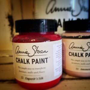 Annie Sloan Chalk Paint closeup