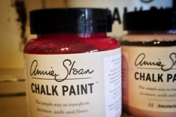 Annie Sloan Chalk Paint closeup