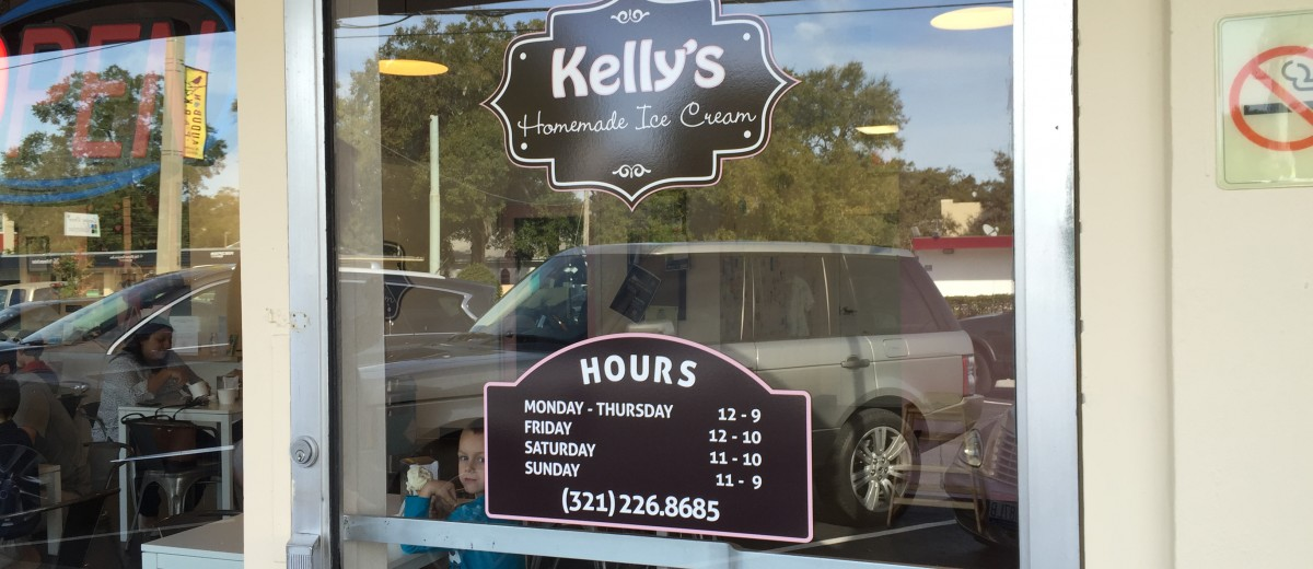 Kellys Homemade Ice Cream Orlando