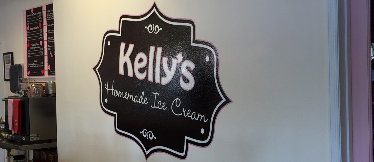 Kellys Homemade Ice Cream logo