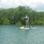 Paddleboarding in New Smyrna
