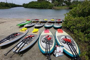 Paddleboards in New Smyrna
